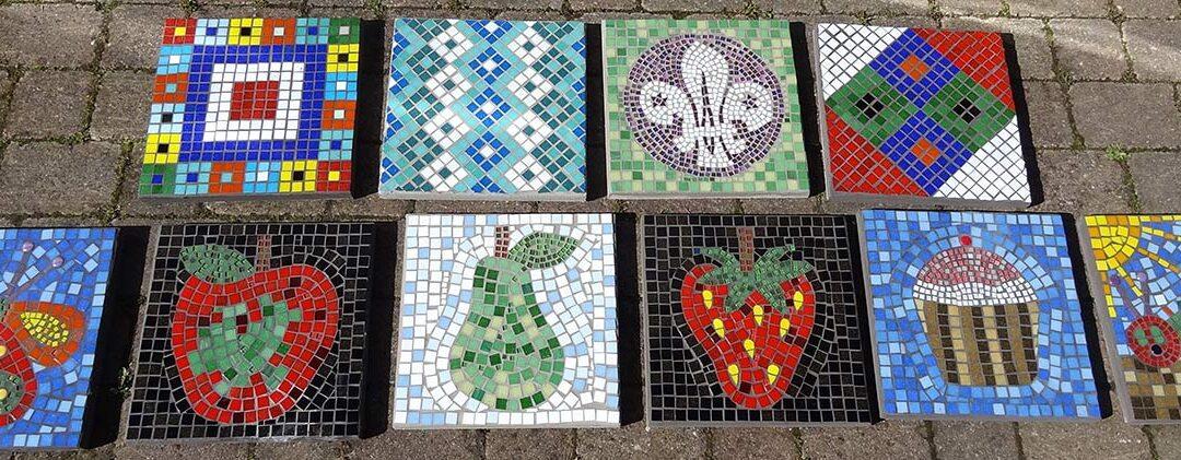Silverdale Park Community mosaics
