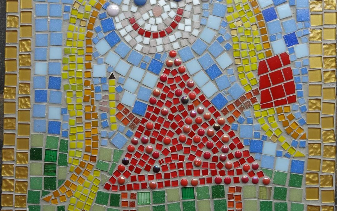 Woodthorpe School pupil mosaics